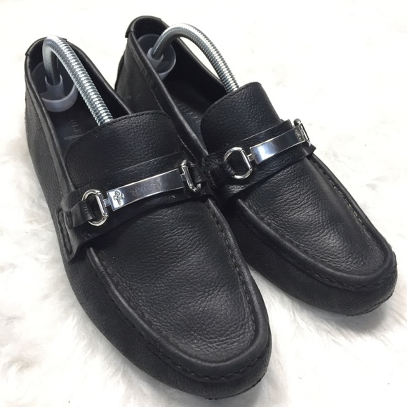 18f131d7076 Cole Haan Other - Men s Cole Haan black leather driving loafers ...