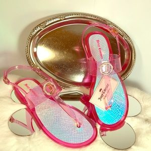 There Back!! Juicy Couture Jelly Sandel.