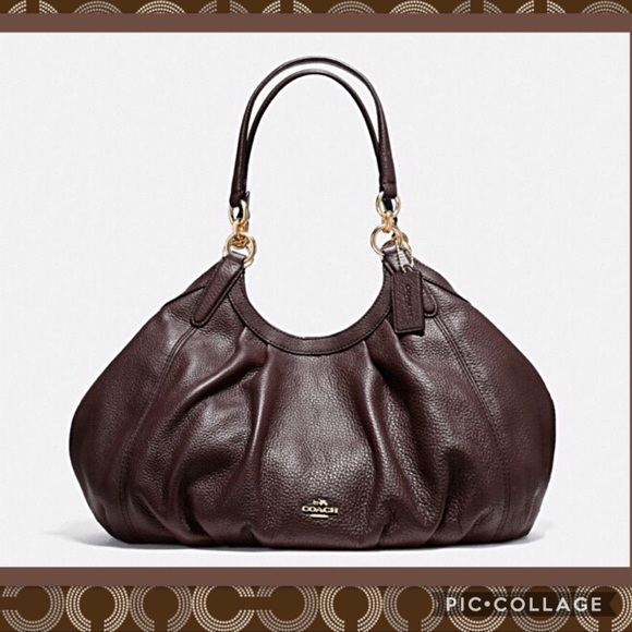 69369db6180 Coach Bags   Nwt 375 Authentic Lily Bag In Oxbloodgold   Poshmark