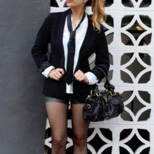 Frenchi Black Blazer Career trendy size medium