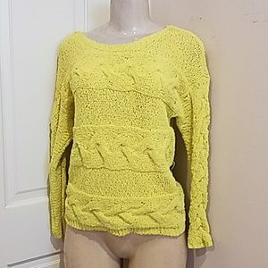 Bar lll Yellow Sweater size XS!.
