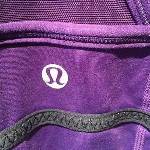 lululemon athletica Tops - Lululemon purple tank, sz 6, 55362