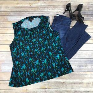Women's Dana Buchanan Sleeveless Blouse XL