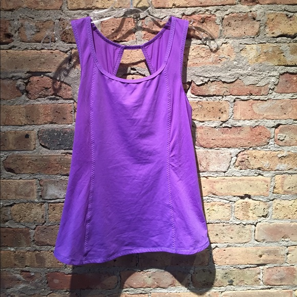 lululemon athletica Tops - Lululemon purple tank, sz 6, 55359