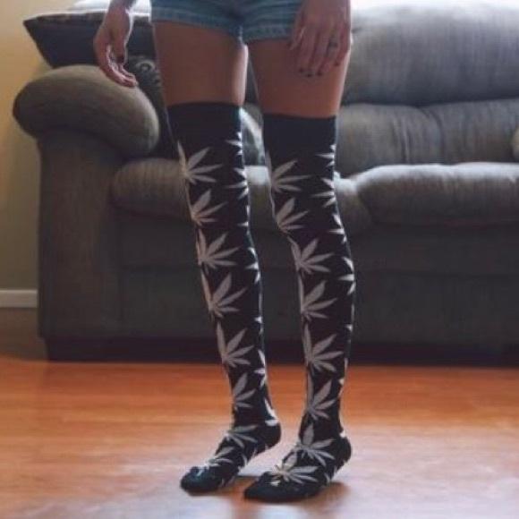 1e1b25068 Knee high huff socks