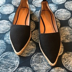 Shoes - *NEVER WORN* Canvas Flats