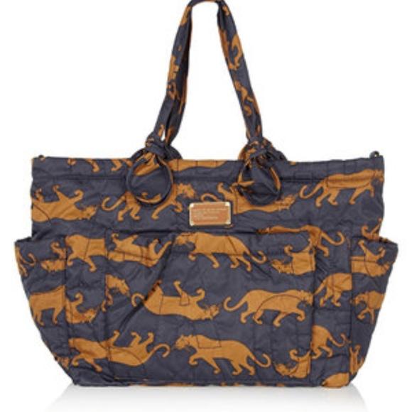 Tote Bag, Blue Denim, Denim, 2017, one size Marc Jacobs