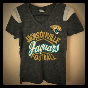 NFL team apparel Jacksonville jags fitted t shirt