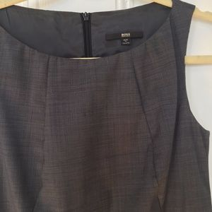 Hugo Boss Wool Wiggle Pencil Office Dress 2