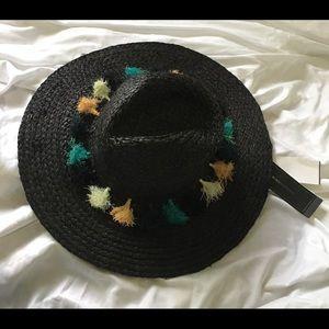 BCBG MAX Panama hat