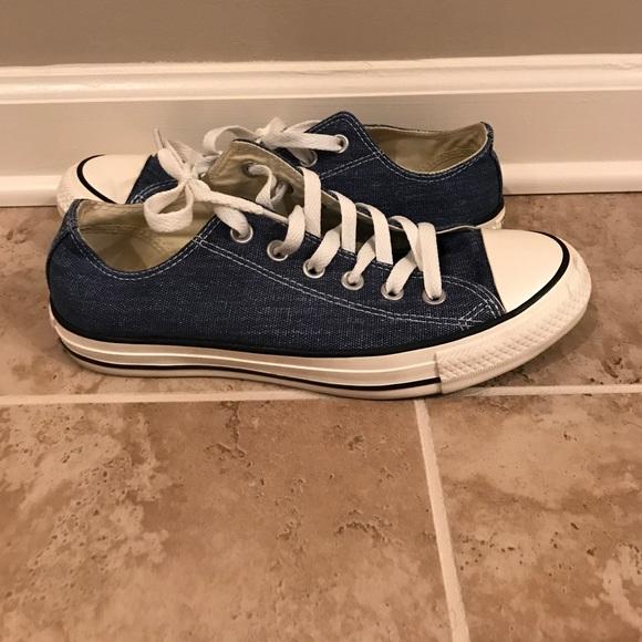 d44aff2a7203 Converse Shoes - Denim Converse All Stars Unisex women s 8 Men s 6