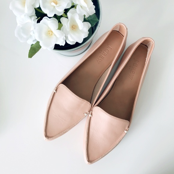 97e313281dc J. Crew Factory Shoes - J. Crew Edie Leather Loafers (6.5)