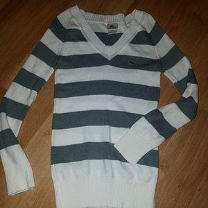 Lacoste sweater sz6 nice
