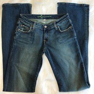 Bebe Flare Jeans Size 27