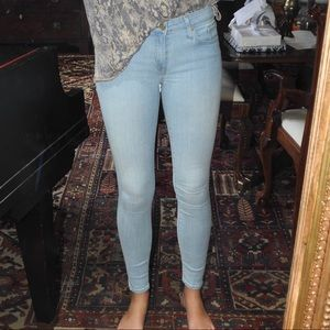 White Wash Skinny Jeans