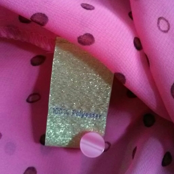 Princess Vera Wang Tops - Princess Vera Wang Pink Blouse Top