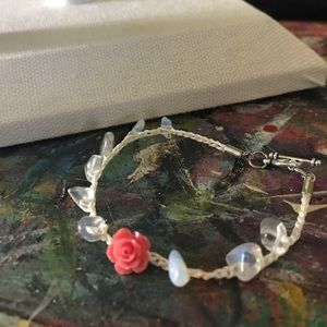 trigger hippies closet Jewelry - Opal and petal bracelet