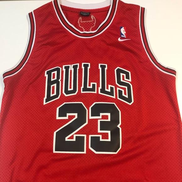super popular 164d3 dcc8b Michael Jordan Chicago Bulls jersey