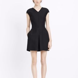 Vince Inverted Pleat Dress Size 4