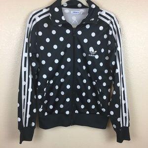 Adidas giacche & cappotti traccia giacca a pois firebird poshmark