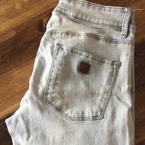 Roxy Light wash distressed skinny Jeans