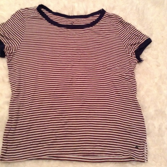 American Eagle Outfitters Tops - American Eagle Striped Crop Top