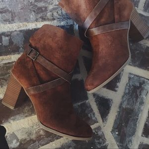 Shoes - ONE DAY SALE // Suede Ankle Boots