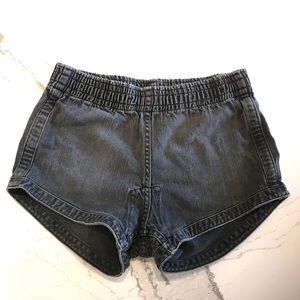 Vintage Denim Short with Elastic Waist sz M