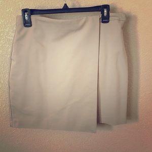 Khaki skirt size 8
