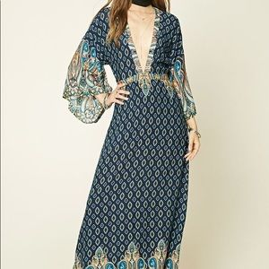 SALE! Forever21 ornate maxi dress