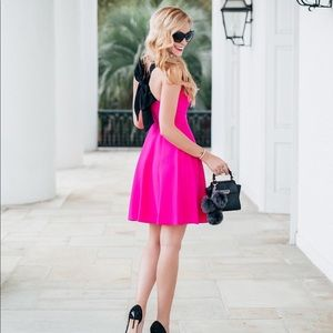 Dresses & Skirts - CeCe Hot Pink Bow dress