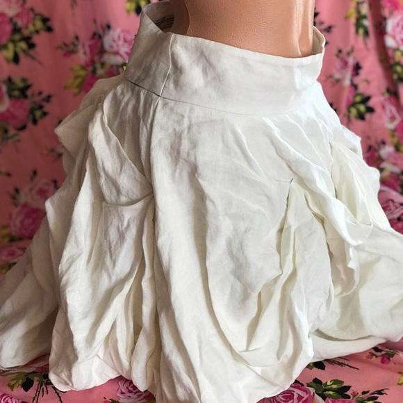 999347acb All Saints Skirts | White Linen Costume Skirt Renaissance Fair ...