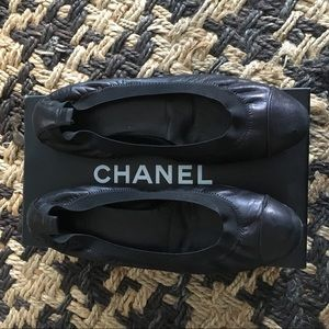 CHANEL FLATS size39