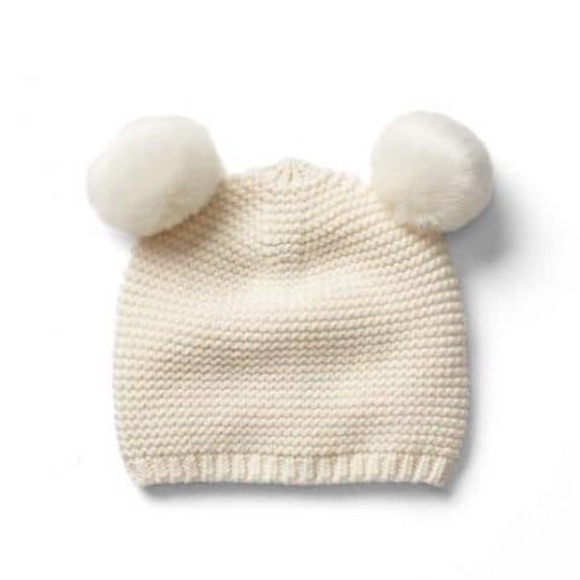 24d6a834336 Baby Gap Knit Pom Pom Beanie Hat