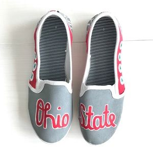 Shoes - Ohio State Buckeyes Shoes Hand Painted