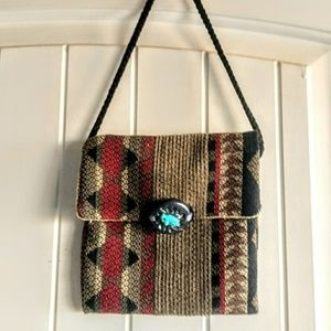 Handbags - Sale!! Crossbody Carpet Bag, possibly handmade