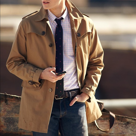 6efc397d8 Brooks Brothers Jackets & Coats   Brooks Brother Mens Trench Coat ...