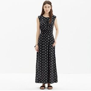 Madewell ikat brush maxi dress