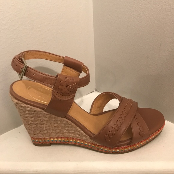 Jack Rogers Abbey Leather Wedge ... footaction sale the cheapest 35ep27