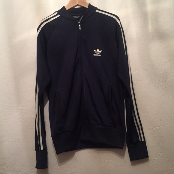 bc0f13b92 adidas Jackets & Coats | Mens Track Jacket Size M Navy Blue | Poshmark