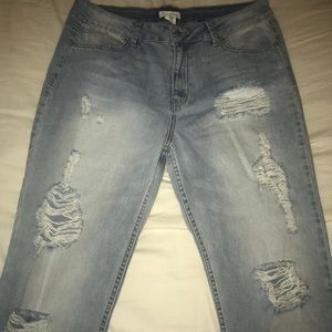 Distressed Sky And Sparrow Jeans - Never Worn!!