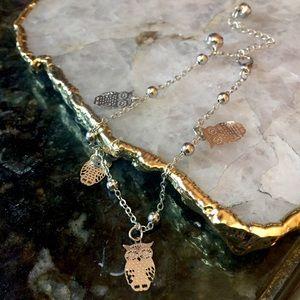 Jewelry - Delicate Owl Charm Bracelet