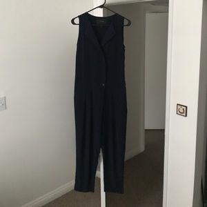 Jcrew Navy Blue Jumpsuit
