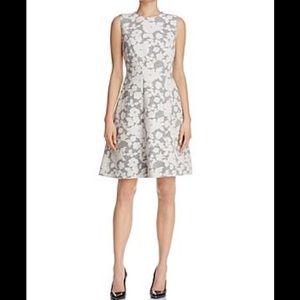 Hellery Floral fit & flare dress. Boss Hugo Boss