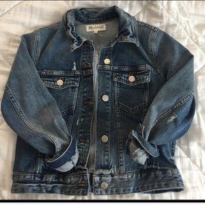 Madewell denim jacket sz S