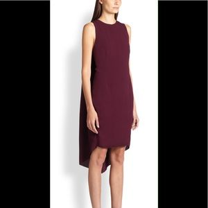 Narciso Rodriguez Crepe Cape Dress *NWT*