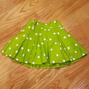 Gilly Hicks size extra small pleated skirt