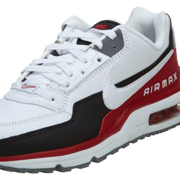 meet 7cb5a b9a30 Nike Men's Air Max LTD 3 White/Black/Red. M_59fbc39a8f0fc4d5c701ad43
