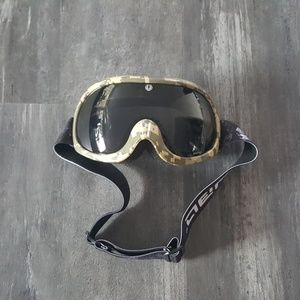 Accessories - Camouflage Blackout Lens Snowboard Goggle