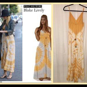 Dresses & Skirts - Host Pick🎉Gypsy 05🌟Alex Tie-Dye Long Maxi Dre